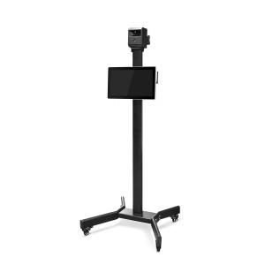 "Termoscanner Foscam 2 Megapixel, rilvezione 3.8 Metri con Display Touch 15,6"" e asta sistema completo"