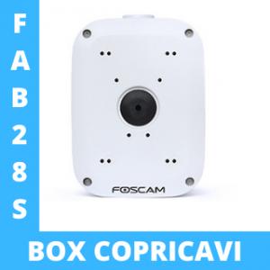 Box copricavi Foscam FAB28S Waterproof Scatola Proteggi cavi impermeabile compatibile per le telecamere Foscam FI9828W, FI9828P, FI9928P, SD2, SD2X e FI9928P
