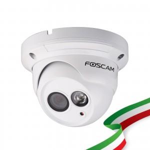 TELECAMERA RICONDIZIONATA Foscam FI9853EP HD 1 megapixel da esterno P2P POE 2.8mm 70°