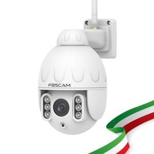 [PRE-ORDINE] Foscam SD4 Telecamera IP 4 Megapixel motorizzata Wireless da esterno con audio integrato visione remota P2P