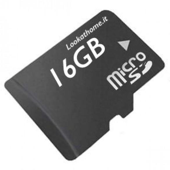 MicroSD TF Card 16GB No Brand Classe 4