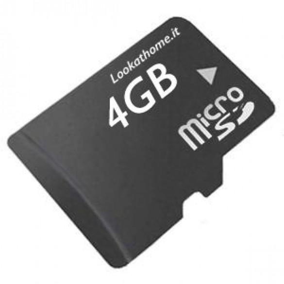 MicroSD TF Card 4GB Bulk Classe 4