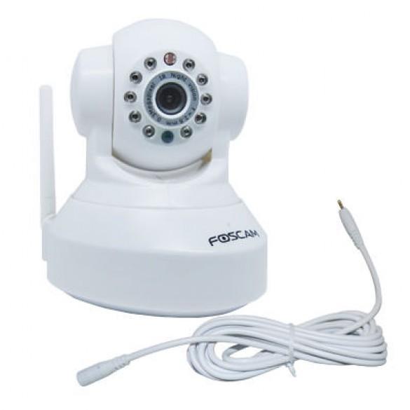 Cavo estensione prolunga rete elettrica 3m colore Bianco per telecamere da interno