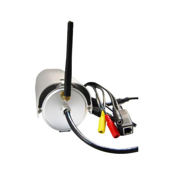 Foscam FI9804W 1 Megapixel HD H.264 Wireless Waterproof con Filtro IR-Cut - 15 Metri e Lente da 2.8mm (70° Gradi)
