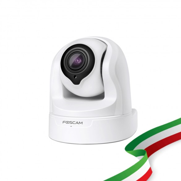 Telecamera Ricondizionata Foscam FI9926P Telecamera da interno WiFi con Zoom Ottico 4X PTZ con infrarossi