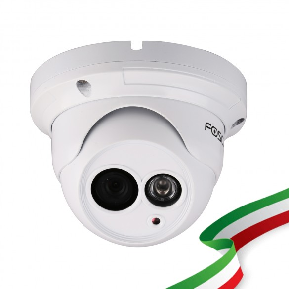 Telecamera Foscam FI9853EP HD 1 megapixel da esterno P2P POE 2.8mm 66°