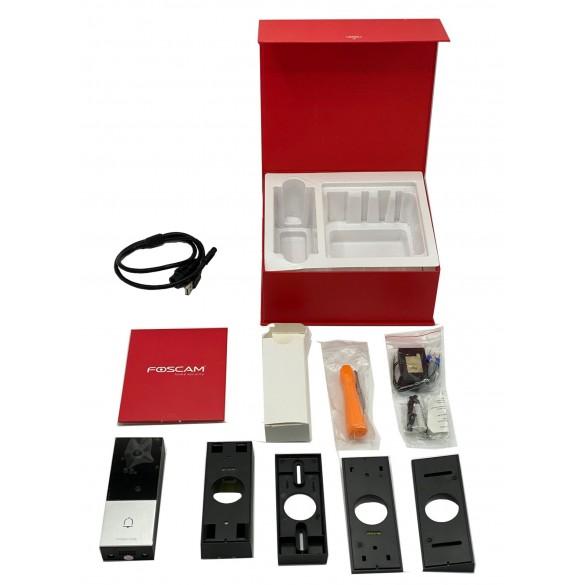 [PRE-ORDINE] Videocitofono Wifi Wireless Foscam VD1 visione 170° HD 4 Megapixel wifi Dual con rilevamento facciale