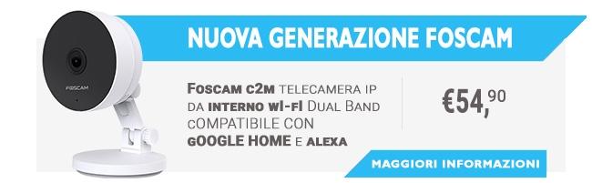 Disponibile la nuova Foscam C2M